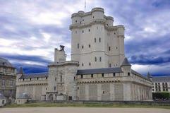 medeltida vincennes för slott Arkivfoto