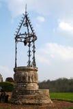 Medeltida Well Arkivbild