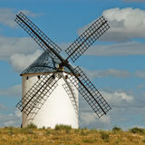 medeltida windmill Royaltyfri Foto