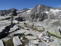 Medelz, Weissee, Autriche Photos libres de droits