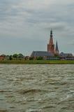 Medemblik. Great or St. Boniface Church church in Medemblik, The Netherlands Stock Photos