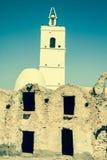 Medenine (Tunisien): traditionella Ksour (berberen stärkt spannmålsmagasin Royaltyfri Fotografi