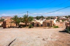 Medenine (Tunisien): traditionella Ksour (berberen stärkt spannmålsmagasin Royaltyfria Bilder