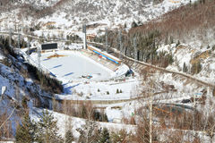 Medeo (Medeu) Rink In Almaty, Kazakhstan Royalty Free Stock Photography