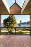 Medern house, balcony view Stock Photo