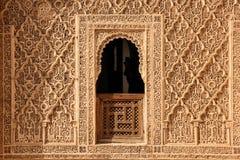 Medersa Ben Youssef. Detail. Marrakesh . Morocco Stock Images