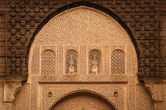 Medersa Ben Youssef. Detail.  Marrakesh . Morocco Royalty Free Stock Images