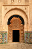 Medersa Ben Youssef. Detail.  Marrakesh . Morocco Royalty Free Stock Photography
