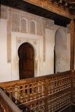Medersa Ben Youssef. Interior.  Marrakesh . Morocco Stock Image