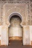 Medersa Ben Youssef a Marrakesh Fotografia Stock Libera da Diritti