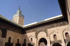 Medersa Bou Inania in Fes, Morocco Royalty Free Stock Photography