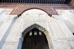 Medersa Bou Inania Koranic School, Morocco Royalty Free Stock Photography