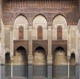 Medersa in Marrakech Stock Foto's