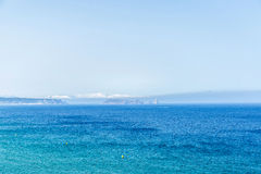 Medes Islands on the Costa Brava, Catalonia, Spain Stock Photography