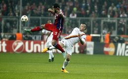 MEDHI BENATIA BAYERN MUNICH Royalty Free Stock Images