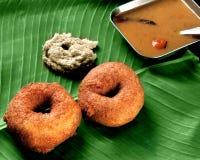 Medhu Wada, завтрак стоковые изображения