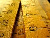 Medição foto de stock