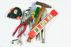 Medição das ferramentas Imagem de Stock