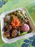 Medi Bowl Salad Royalty Free Stock Photography