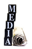 Media royalty-vrije stock fotografie