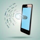 Media Application. Stock Image