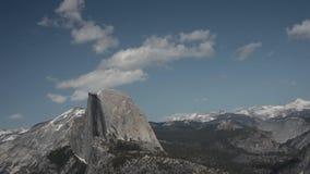 Media bóveda, parque nacional Timelapse de Yosemite Fotos de archivo