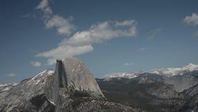 Media bóveda, parque nacional Timelapse de Yosemite Imagen de archivo