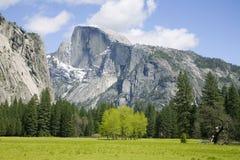 Media bóveda - Yosemite Foto de archivo libre de regalías