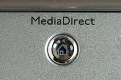 Media button Stock Photos