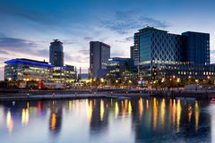 Media City Royalty Free Stock Photography