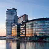 Media City Royalty Free Stock Image