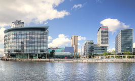 Media City Royalty Free Stock Images