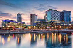 Media City Royalty Free Stock Photo