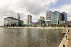 Media City. Salford Quays, Manchester Stock Photos