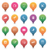 Media & Communication Icons Stock Images