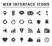 Media and communication icons Royalty Free Stock Photos