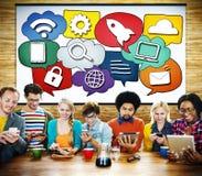 Media Communication Technology Latest Modern Concept Stock Photos