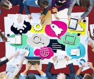 Media Communication Technology Latest Modern Concept Stock Images