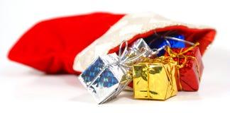 Media con los presentes Foto de archivo libre de regalías