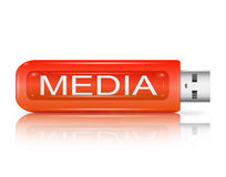 Media concept. Stock Photography