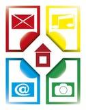 Media Concept Stock Image