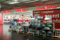 Media de elektronische opslag van Markt Stock Foto's