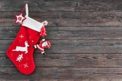 Media de la decoración de la Navidad imágenes de archivo libres de regalías