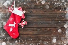 Media de la decoración de la Navidad fotos de archivo