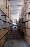Media de la mercancía foto de archivo