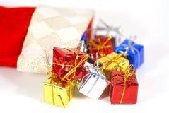 Media de la Navidad Imágenes de archivo libres de regalías