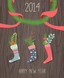 Media de la Navidad Imagen de archivo libre de regalías
