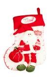 Media de la Navidad con Santa Fotos de archivo