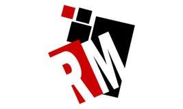 Media de RM de lettre illustration libre de droits
