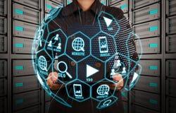 Media de vente de Digital (annonce de site Web, email, réseau social, SEO, image stock